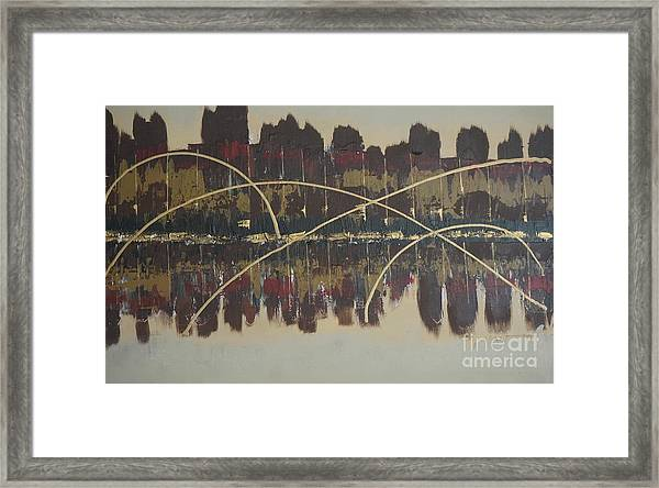Downtown Abbey Framed Print