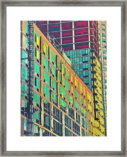 Downtown Framed Print by Gillis Cone