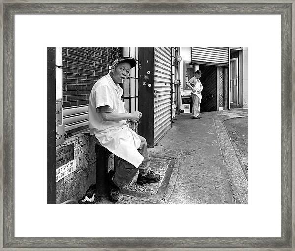 Doyers Street, Chinatown Framed Print