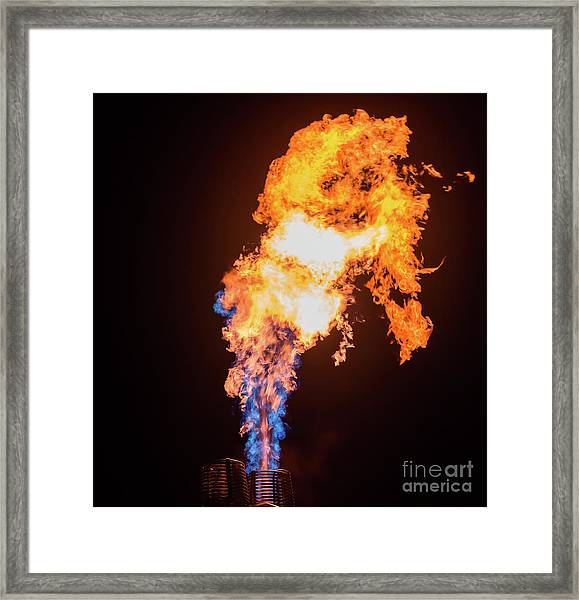 Dragon Breath Framed Print