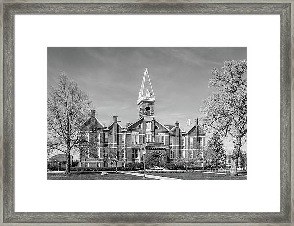 Drake University Old Main Framed Print