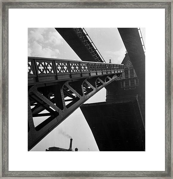 Drawbridge Framed Print