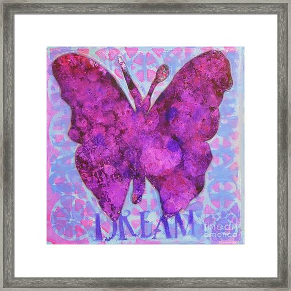 Dream Butterfly Framed Print