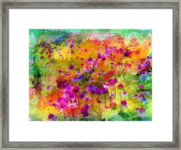 Dream Of Flowers Framed Print