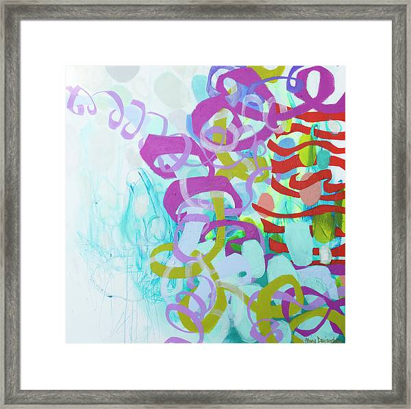 Dreams Of You And Me Framed Print