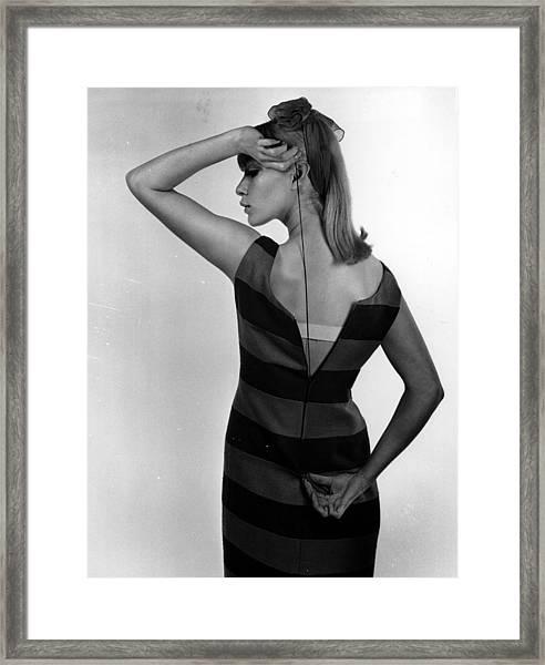 Dress Zip Framed Print