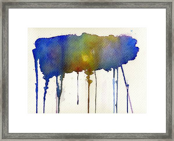 Dripping Universe Framed Print