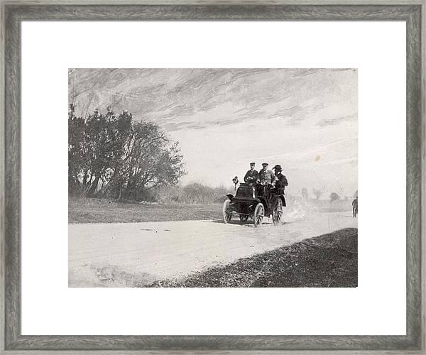 Driving Through Acton Framed Print