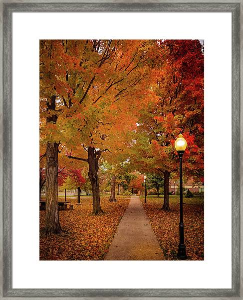 Drury Autumn Framed Print