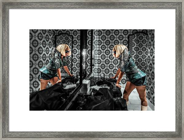 Dual Identity Framed Print