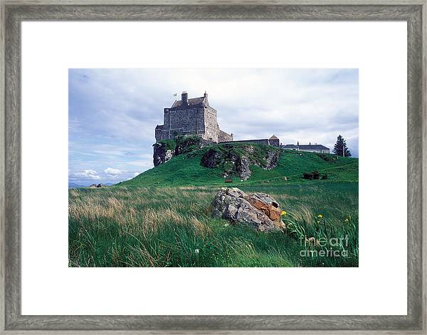 Duart Castle Home Of The Maclean Clan Framed Print