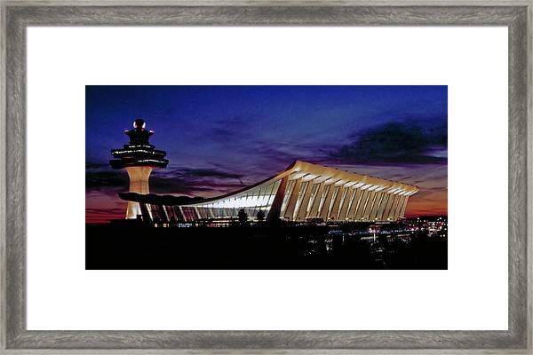 Dulles International Framed Print