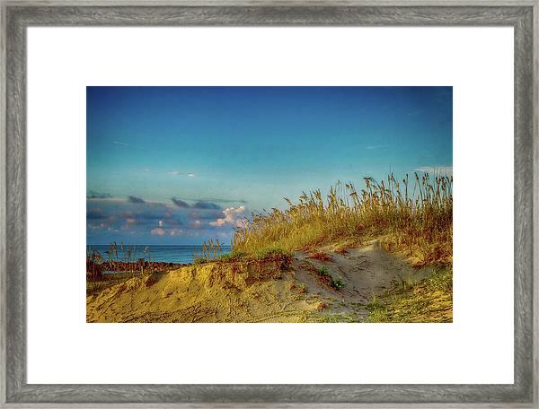 Storm And Sunshine Framed Print