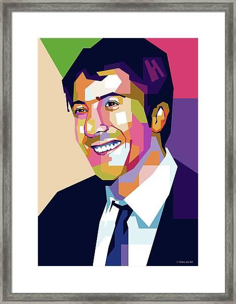 Dustin Hoffman Framed Print