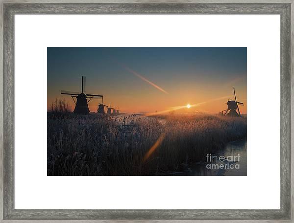 Dutch Dawn IIi Framed Print