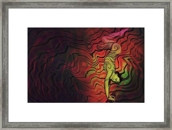Dynamic Color Framed Print