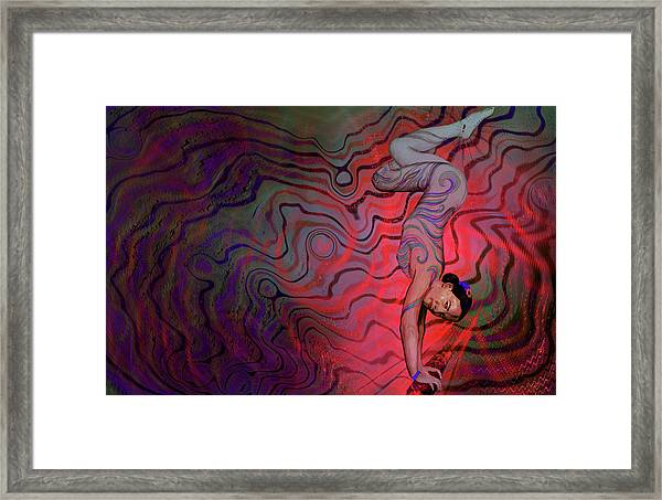 Dynamic Color2 Framed Print