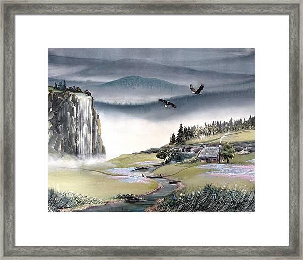 Eagle View Framed Print