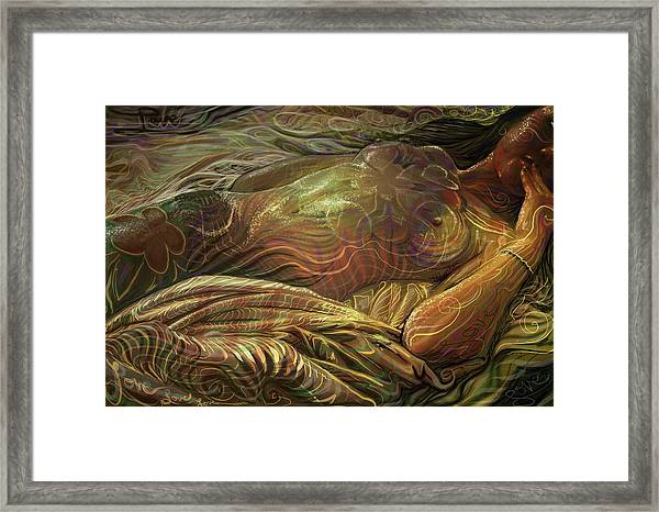Earth Evening Framed Print