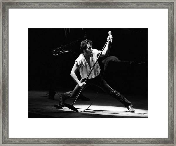East Street Band Live Framed Print