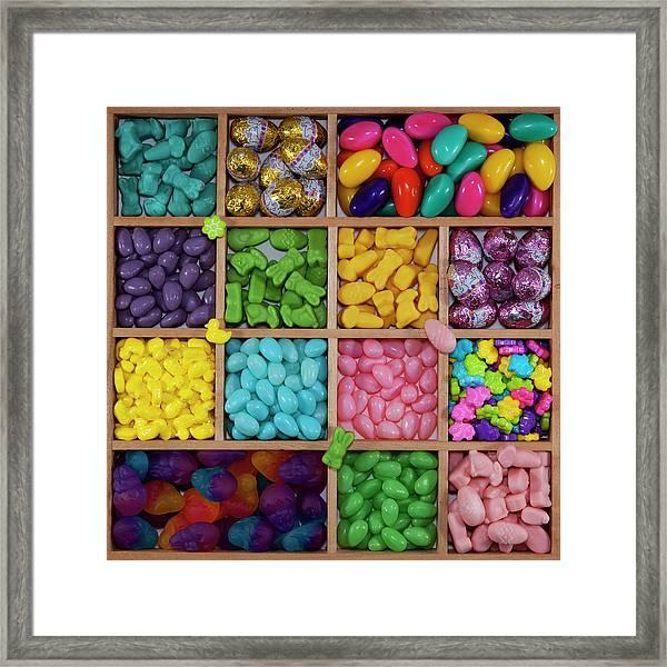 Easter Candies Framed Print