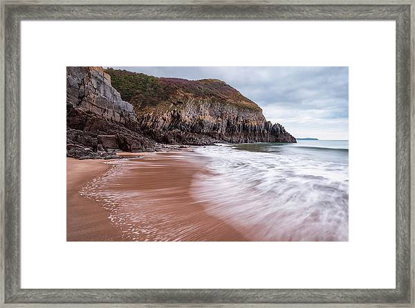 Framed Print featuring the photograph Ebb And Flow by Elliott Coleman