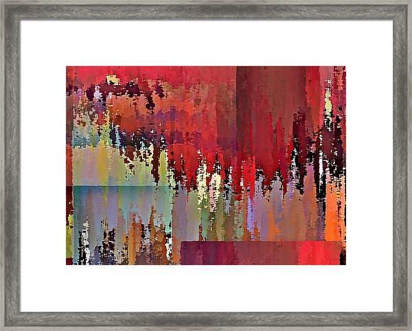 Ecumenopolis Framed Print