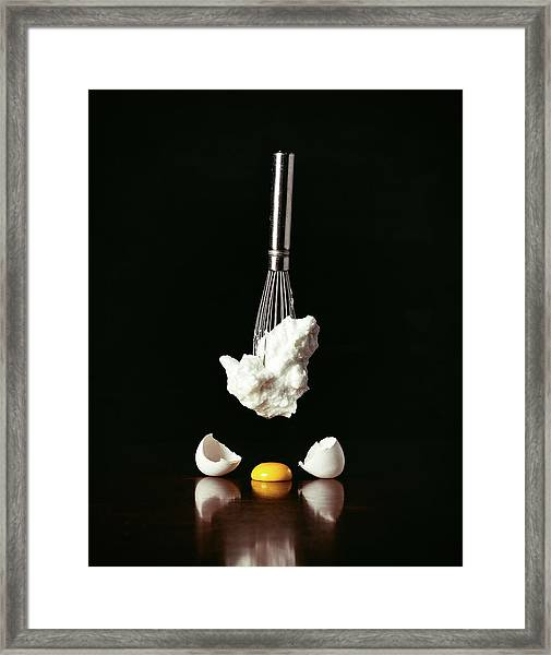 Egg Deconstructed Framed Print