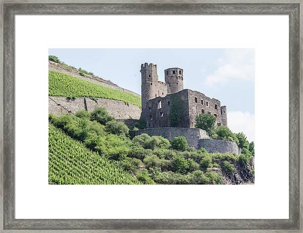 Ehrenfels Castle Framed Print