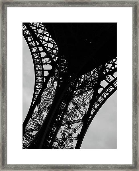 Eiffel Tower, Base Framed Print