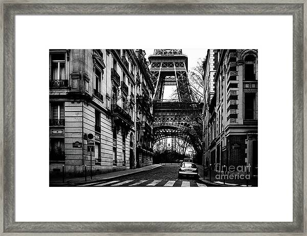 Eiffel Tower - Classic View Framed Print