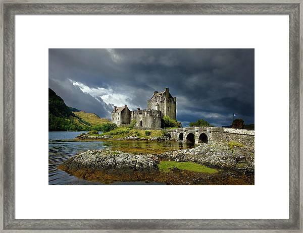 Eilean Donan Castle, Scotland Framed Print by Daryl Benson