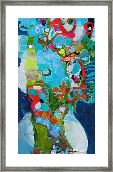 El Arbol Framed Print