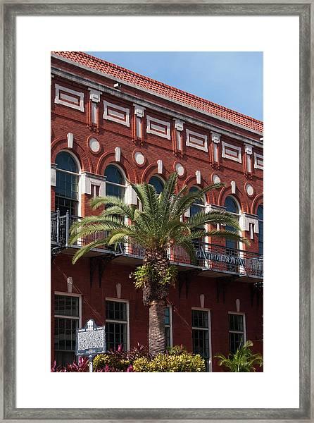 El Centro Espanol De Tampa Framed Print