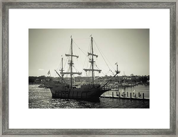 El Galeon Andalucia Framed Print