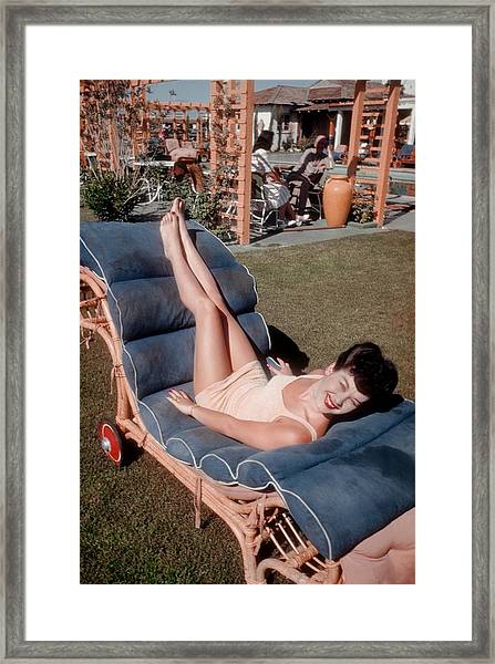 El Rancho Vegas Framed Print by Michael Ochs Archives
