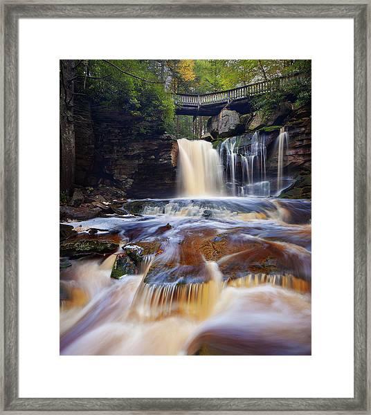 Elakala Falls Framed Print