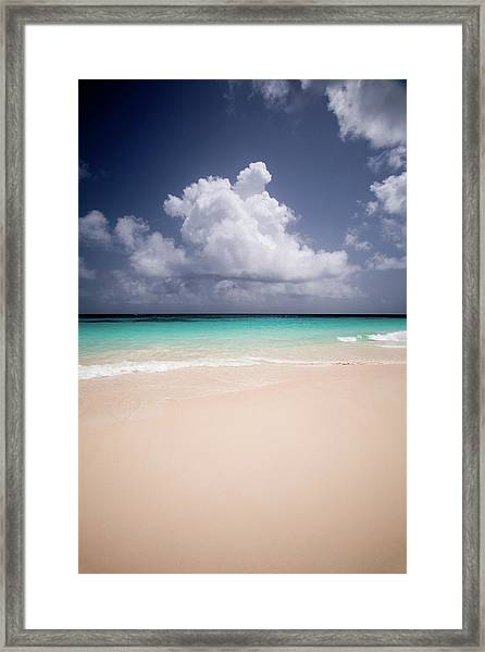 Elbow Beach In Bermuda Framed Print