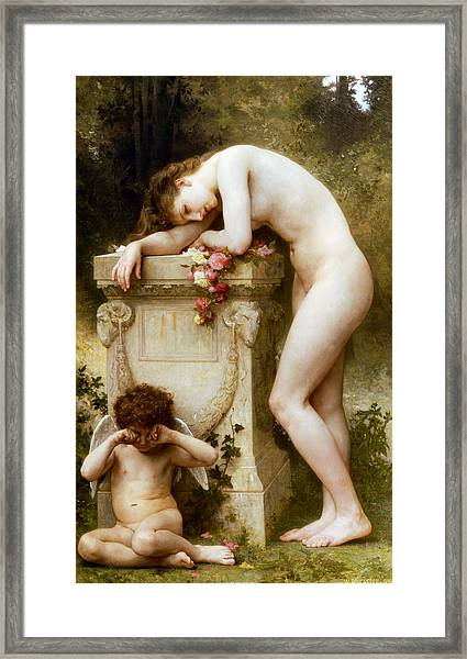 Ellergy 1899 William Bouguereau Framed Print