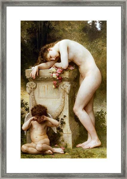 Ellergy 1899 William Bouguereau Framed Print