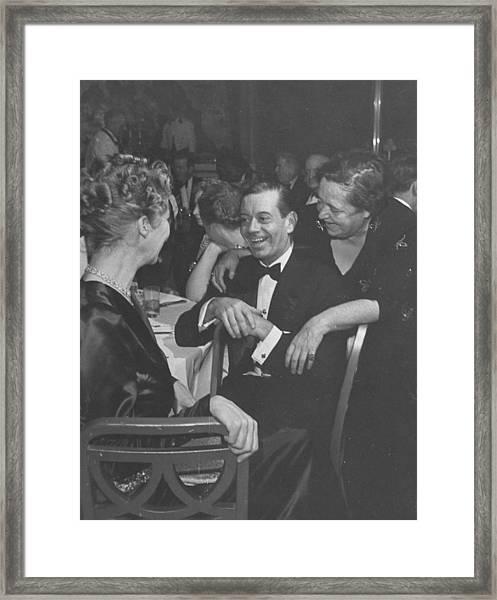 Elsa Maxwellcole Porter Framed Print