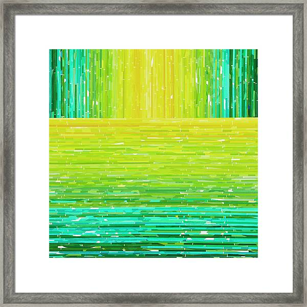 Emanent Framed Print by Color Bliss