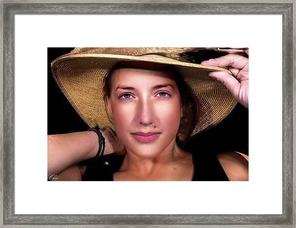 Emily 2 Framed Print