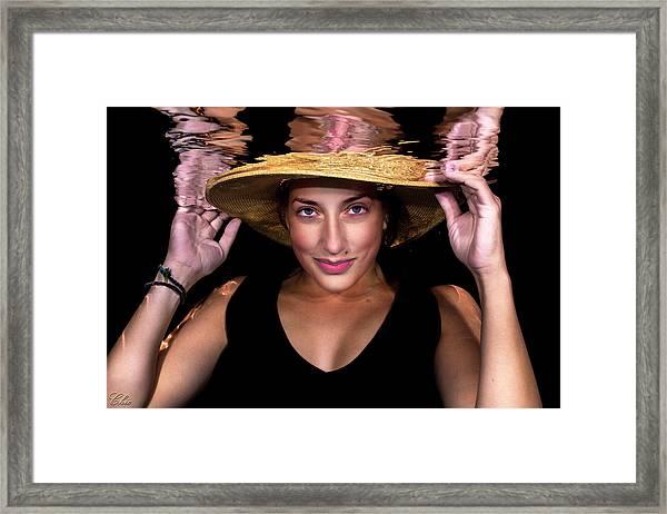 Emily 5 Framed Print