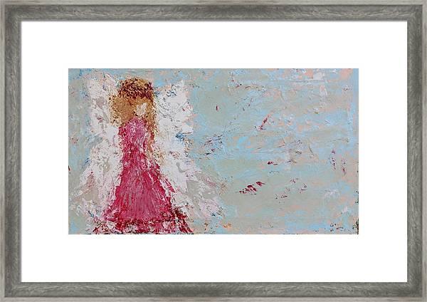 Emma's Angel Framed Print