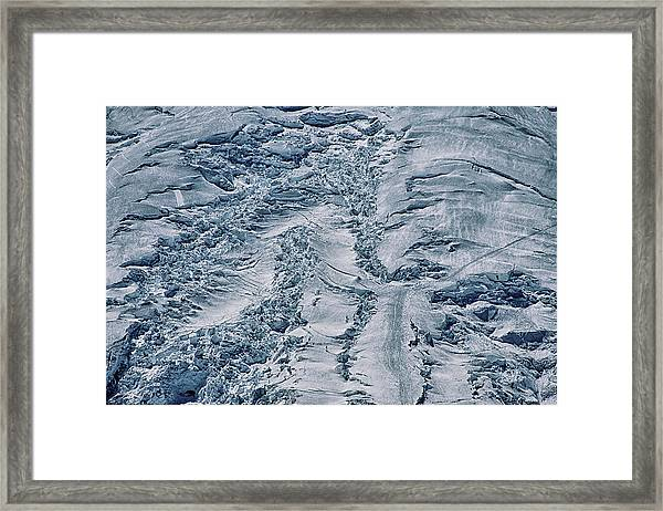 Emmons Glacier On Mount Rainier Framed Print