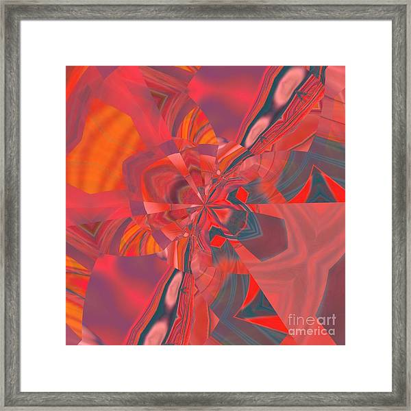 Framed Print featuring the digital art Emotion by A zakaria Mami