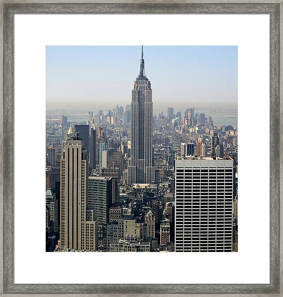 Empire State Building Xl Framed Print