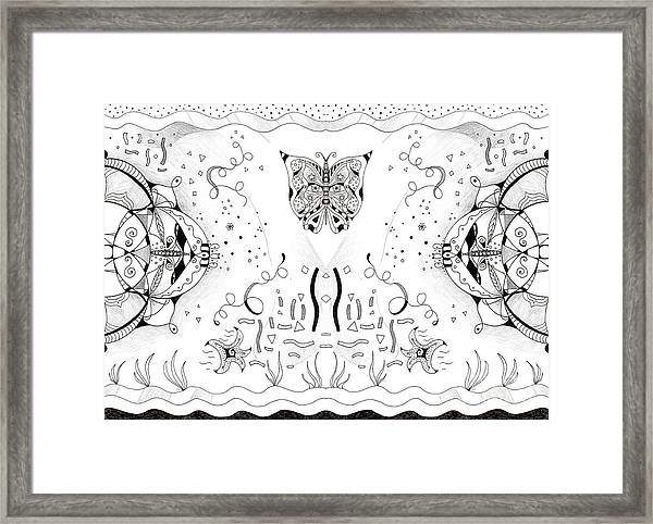 Endless Flow 3 Framed Print