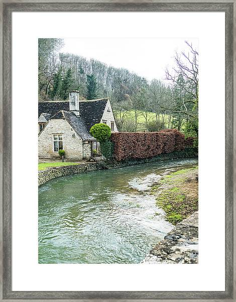 English Creek Framed Print